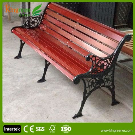wrought iron bench wood slats hot sell wood slats for cast iron bench outdoor furniture