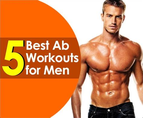 5 best ab workouts for to build six pack workout