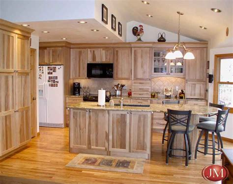 Wood Cupboards And Cabinets by Custom Kitchen Pecan Wood Cabinets Hardwood