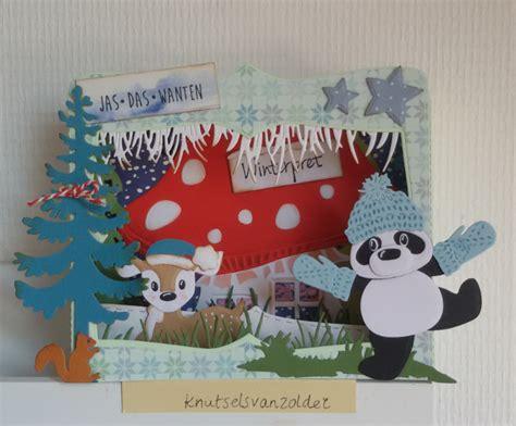 Ineke Panda knutsels zolder winterpret