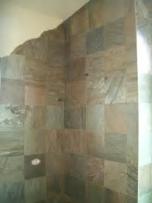 Installing Slate Tile Slate Master Bathroom Installation In Erie