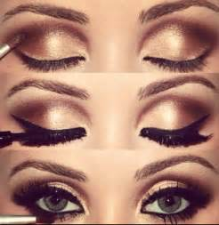 What Can I Use To Make My Hair Shiny by How To Do Gold Eye Makeup