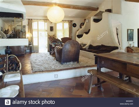 Living Room Dining Room Split Large Paper Lshade In Split Level Country Living And