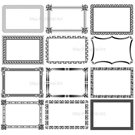 printable art to frame printable borders and frames clip art 62