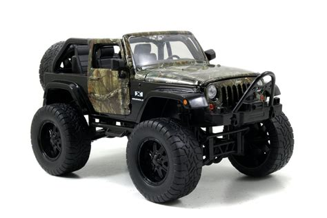 jeep toy realtree die cast jeep wrangler by jada toys inc realtree