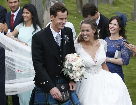 andy murray wedding andy murray and kim sears wedding in pictures