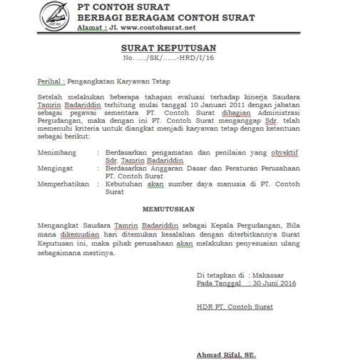 kumpulan contoh surat resmi terbaru dilengkapi format word idnoffice
