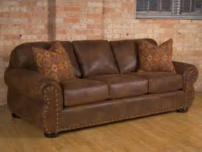 Rustic Leather Sofas Rustic Leather Sofas Plushemisphere