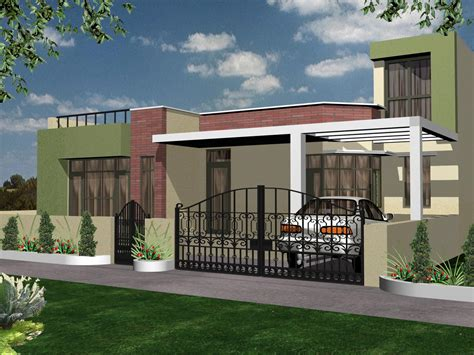 exterior house designs for 1500 sqft plot together with