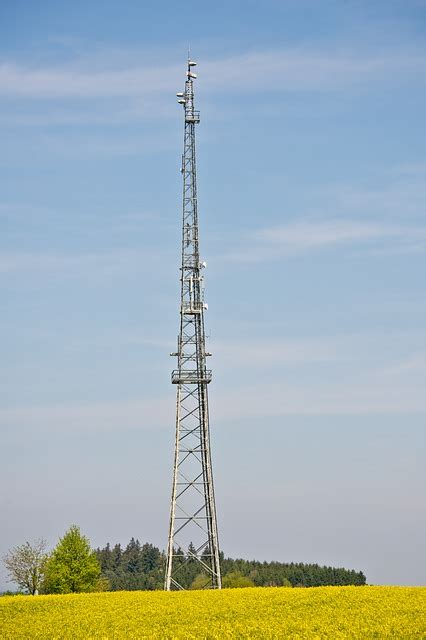 photo radio tower radio mast  image
