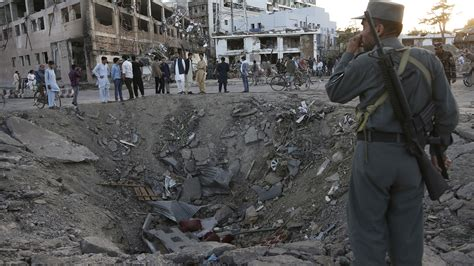 afghan news truck bomb in diplomatic area of kabul kills at