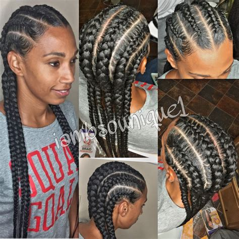 the back of cornbraid hairstyles straight back feed in braids feed in braids pinterest