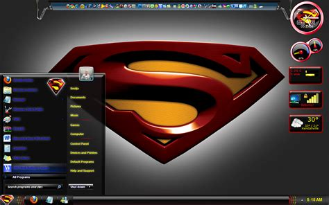 themes for windows 7 superman superman black full theme by pauliewog windows 7 help forums