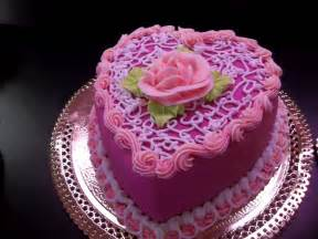 The birthday cake shaped like a heart wallpapers and images