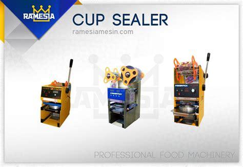 Penutup Plastik Kemasan Sealer Sealed mesin cup sealer harga jual otomatis manual