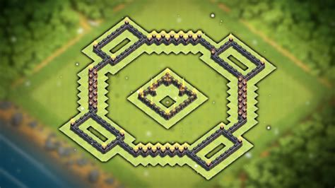 layout coc copy easy to copy quot best quot town hall 7 th7 trophy war base 2016