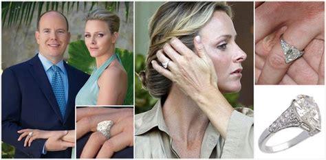 charlene wittstock s engagement ring royal engagement