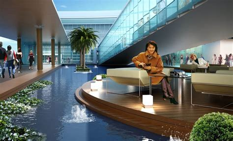 layout bandara ahmad yani quot floating quot on water new airport for indonesia s 5th