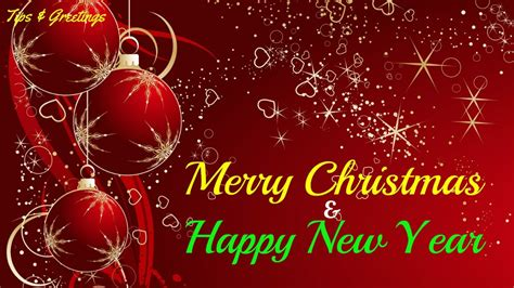 merry christmas happy  year   wishes  sms whatsapp video youtube