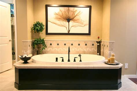 soaker tub in master bedroom traditional bathroom