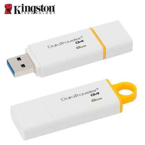 Flashdist Kingstone 8gbusb 20 kingston 8gb usb 3 0 flash disk data traveler 100 g4 dtig4 8gb white