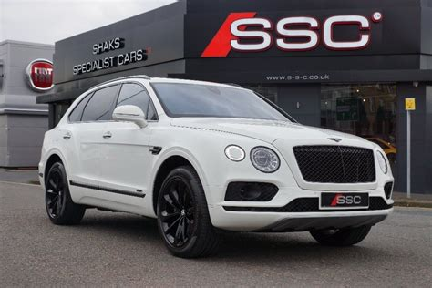 white bentley back used white bentley bentayga for sale