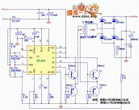car inverter circuit diagram the 12v inverter circuit diagram for car automotive