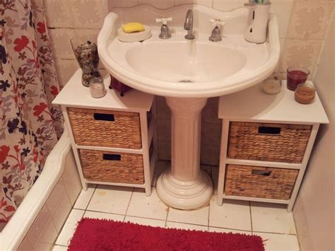 bathroom storage ideas under sink 25 best ideas about small bathroom storage on pinterest