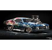 1366x768 American Muscle Car Chevrolet Chavelle Ss Hod