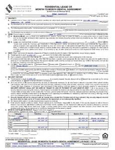 Car Residential Rental Agreement Car Form Lr Blank Fill Printable