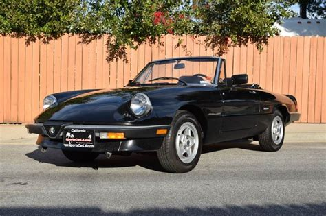 1987 Alfa Romeo Spider by 1987 Alfa Romeo Spider Veloce 2dr Convertible In Lawndale