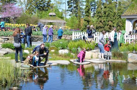 coastal botanical gardens coastal maine botanical gardens offers free maine days