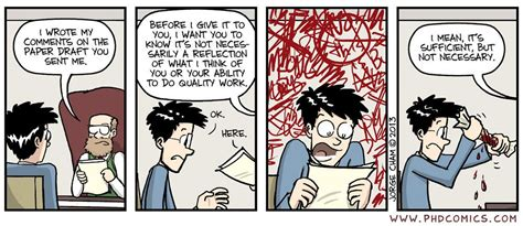 writing the doctoral dissertation phd comics on quot paper draft comments http t