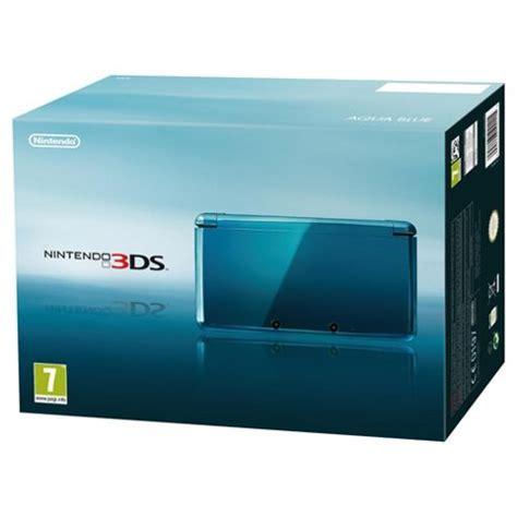 Nintendo 3ds Aqua Blue Small buy nintendo 3ds aqua blue from our nintendo 3ds 2ds dsi range tesco