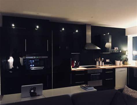 cuisine mur noir cuisine mur noir mat