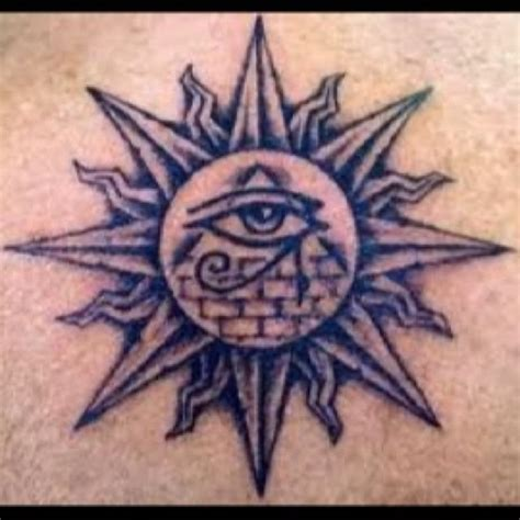 eye of god tattoo 10 pyramid designs and ideas
