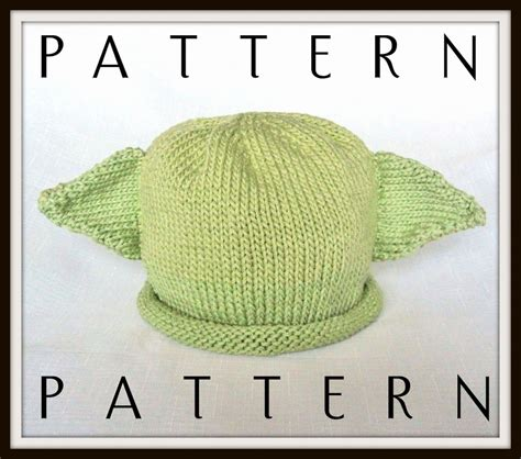 knit yoda hat pattern boston beanies baby yoda pattern knit by bostonbeanies
