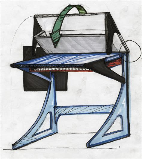 School Desk With Storage by School Desk Storage Design By Aaron Cossrow At Coroflot