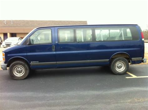buy used to find clean 15 passenger gmc savana ideal