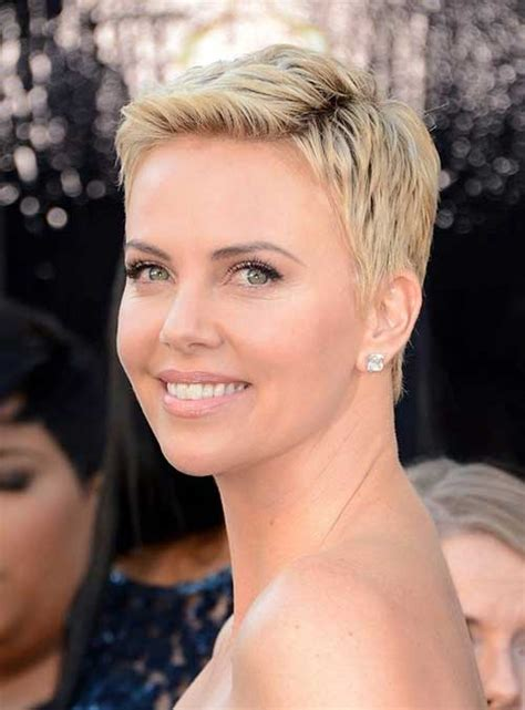 movie stars with short hairstyles 10 new charlize theron pixie haircuts pixie cut 2015