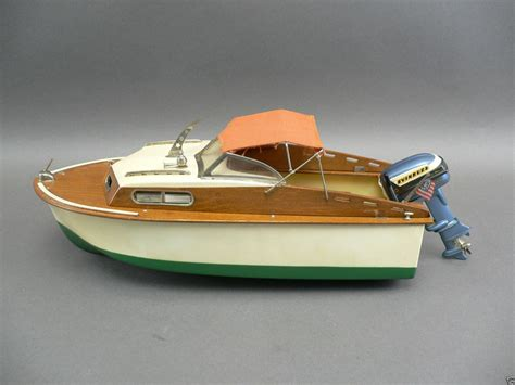 fleetline boats vintage fleetline marlin toy boat k o evinrude big twin