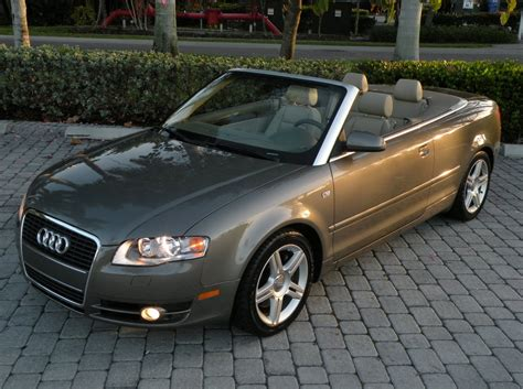 audi a4 2007 for sale 2007 audi a4 convertible for sale auto haus of fort myers