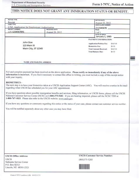 i765 c8 receipt template daca process from start to finish act portal forum