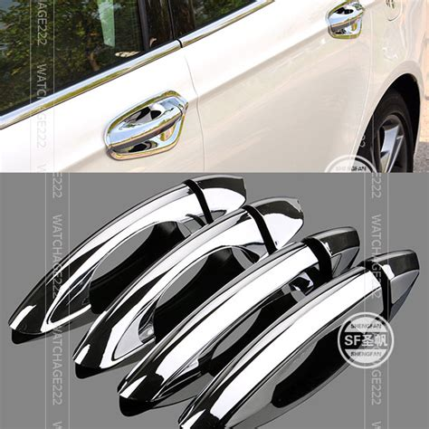 List Molding Chrome 15 Mm Mobil Xpander accessories fit for 2013 2016 ford fusion 2015 2016 mondeo chrome side door handle bar cover jpg