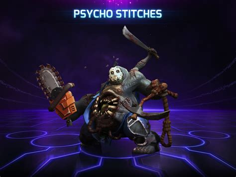 The Psycho From Heroes by Stitches Week