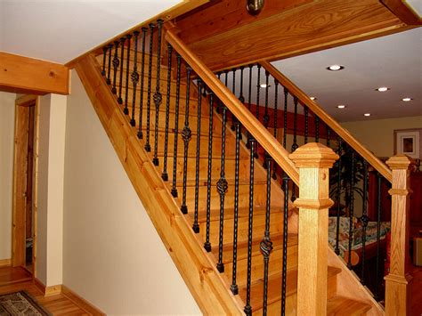 wood banisters iron stair baluster installation networx