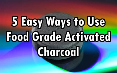 Activated Charcoal Detox Protocol by Niacin Activated Charcoal Agents For Detoxing Weight