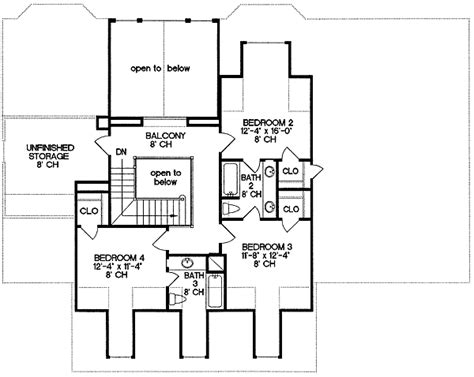 Varied Ceiling Heights   4117DB   Architectural Designs