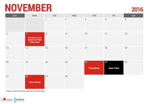 Calendar Sellers Planning Calendar For Sellers