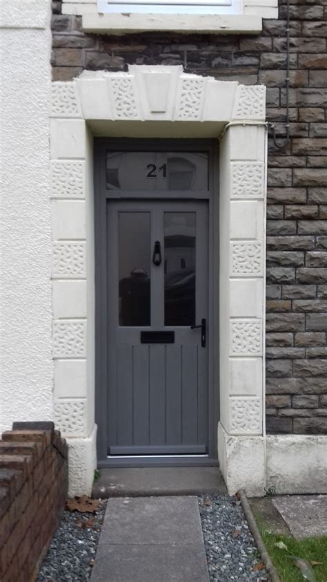 grey front door grey front door and frame bartlett joinery and carpentry